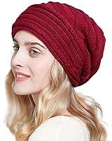 SOMALER Women Men Winter Knit ...