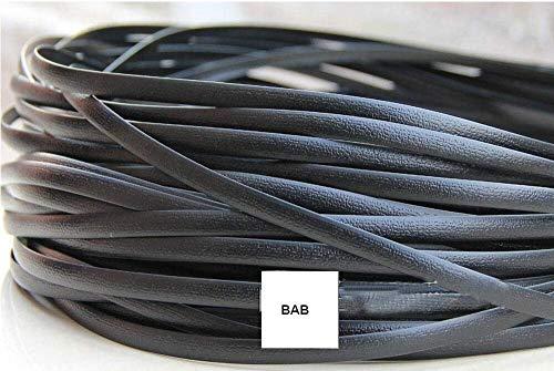 Synthetisches Rattan-Reparaturmaterial, schwarzes Kunststoff-Rattan-Kunststoff-Rattan, für Strick- und Reparaturstühle, Aufbewahrungskorb etc.