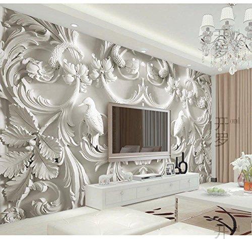 BIZHIGE Schönheit Landschaft Wandbilder Sofa Hintergrundbild Für Wohnzimmer 3D Wand Fototapete...