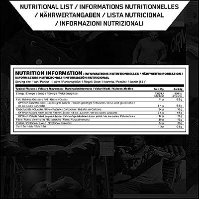 lion whey protein informacion nutricional