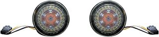 Custom Dynamics ProBEAM Amber/White Dynamic Ringz with Smoke Lens