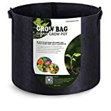 VIPARSPECTRA 10-Pack 5 Gallon Grow Bags - Thickened Nonwoven Aeration...