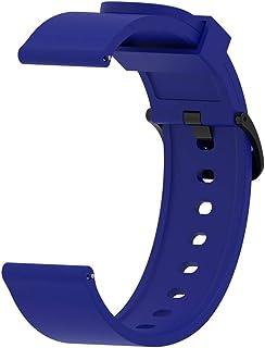 YANGSANJIN Rastreador de Ejercicios, para Correa Amazfit Bip, Smart Watch 20MM Reemplazo Banda Muñeca Silicona Correa Deportiva Pulsera Accesorios