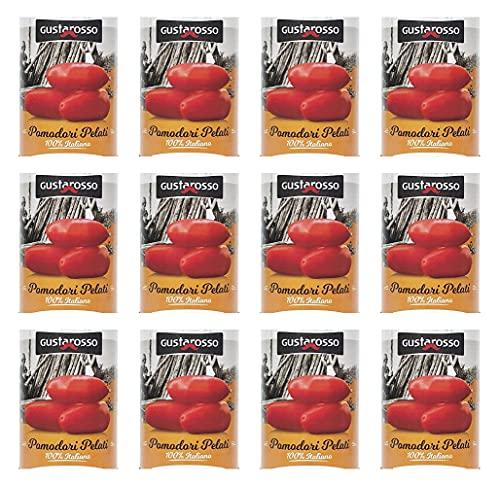 Pomodori Pelati Gustarosso da 400 gr (confezione da 12)