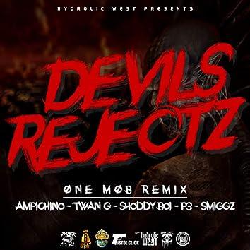Devil's Rejectz (One Mob Remix) [feat. Ampichino, Twan G, Shoddy Boi, P3 & Smiggz]