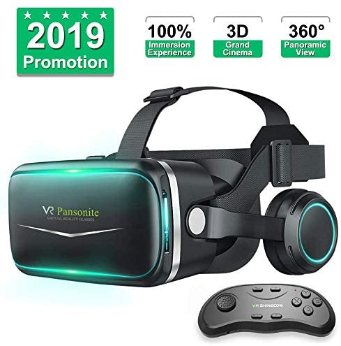 Top 10 Best pansonite vr headset with remote controller