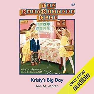 Kristy's Big Day audiobook cover art