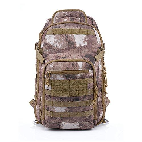 4. Mochila Táctica Yakeda 60L - Para el desierto y la montaña