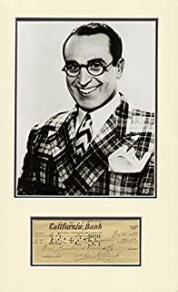 Harold Lloyd - Check Signed 11/28/1955