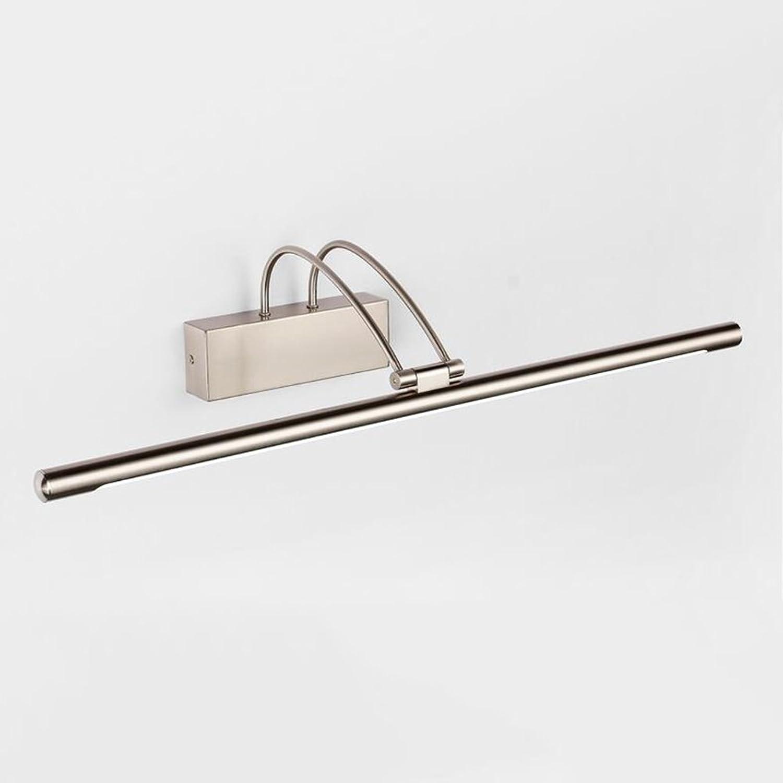 WYYY Spiegellicht Eisen + Acryl 9-16W LED Weies Licht Wasserdicht Badezimmer Toilette 45 Cm   55 Cm   65 Cm   75 Cm ( gre   45 cm )