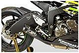 M4 Performance Exhaust GP Series Slip-On compatible with 2009-2021 Kawasaki ZX-6R ZX636 KA6922-GP19