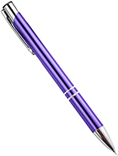 Stainless Steel Point Retractable Craft Weeding and Vinyl Air Release Pin Pen Tool (Purple)