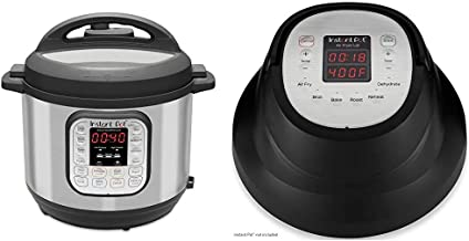 Instant Pot Duo 7-in-1 Electric Pressure Cooker, Slow Cooker, Saute, Yogurt Maker, 6 Quart, 14 One-Touch Programs & Air Fr...