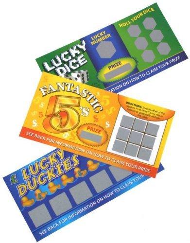 Henbrandt 12 Scherz Lotto Tickets - Lotterie Tickets