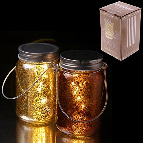 Puckator jar26 Décoration à LED, d'or