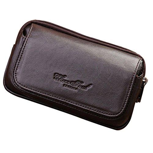 Sharplace Sac de Taille Homme Poche Fanny Bag Téléphone Portable Sac Mini Voyage Camping