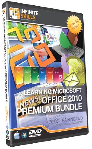 Infinite Skills Learning Microsoft Office 2010 Tutorial DVDs Box Set - Premium Training Bundle 50+ Hours (PC / Mac) [import anglais]
