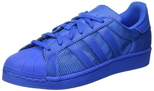 adidas adidas Herren Superstar Sneakers, Blau, 38 EU, Blau (Bluebird/Bluebird/Bluebird), 38 2/3