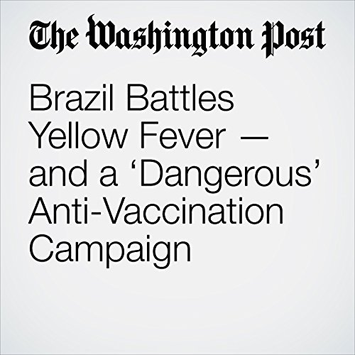 Brazil Battles Yellow Fever — and a 'Dangerous' Anti-Vaccination Campaign copertina