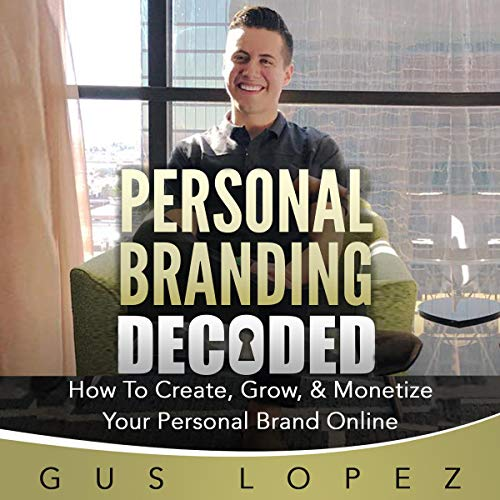 Personal Branding Decoded audiobook cover art