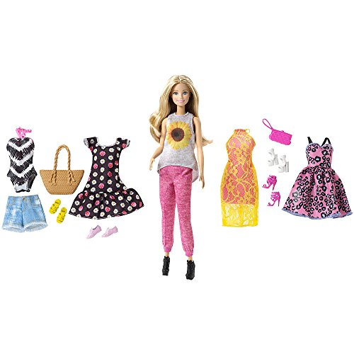 Set de Barbie Pink Passport Modas