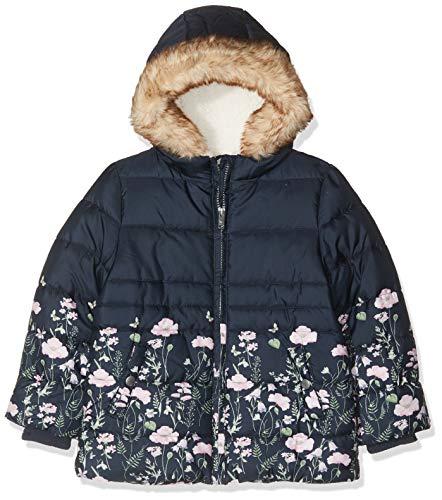 NAME IT Mädchen NMFMARTINE Jacket Jacke, Mehrfarbig (Dark Sapphire Dark Sapphire), (Herstellergröße: 92)