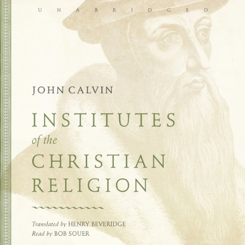 Institutes of the Christian Religion Titelbild