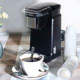 Máquina de café, cafetera de cápsulas, máquina de café automática, extracción de un solo botón de la oficina del hogar pequeño portátil