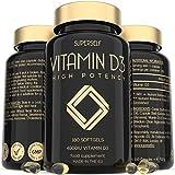 Vitamin D 4000 IU - 180 Softgel Capsules - High Strength Vitamin D3