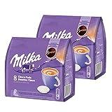 Senseo Milka Choco Pads - Juego de 2 cápsulas de chocolate para bebidas de...