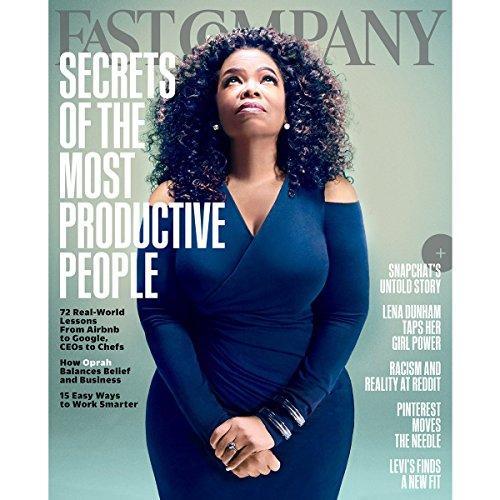 Audible Fast Company, November 2015 audiobook cover art