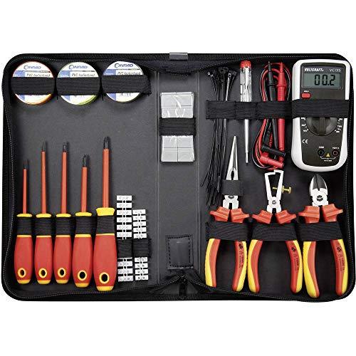 TOOLCRAFT 1177223 Elektriker Werkzeugset...