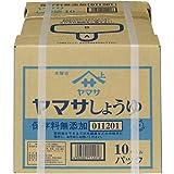 ヤマサ 醤油 無添加 パック 10L