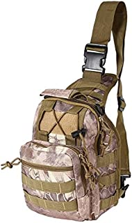 Single Strap Backpack Concealed Carry Backpack - Durable Outdoor Shoulder Military Tactical Backpack Oxford Camping Travel