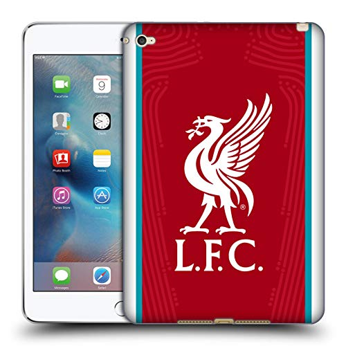 Official Liverpool Football Club Home 2020/21 Soft Gel Case Compatible for Apple iPad mini 4