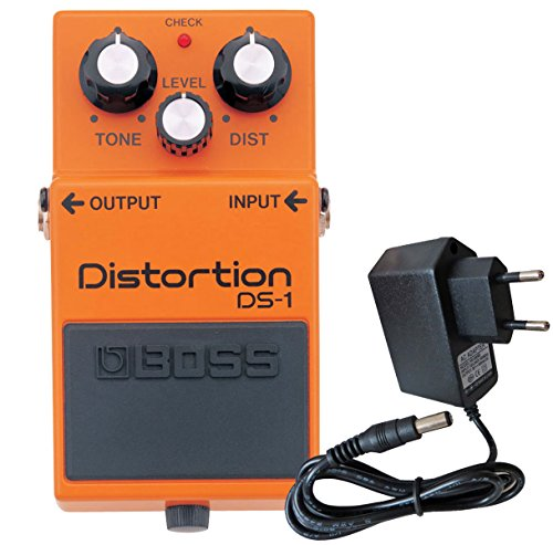 Boss DS de 1 Pedal de distorsión Keepdrum 9 V Fuente