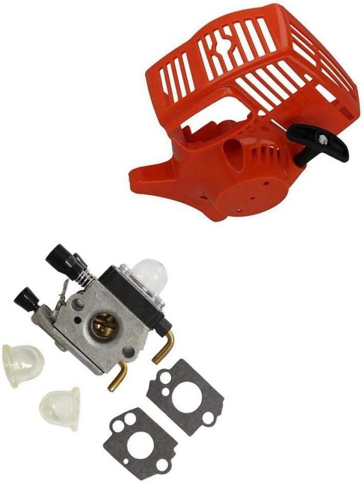 ZYOONG Red Recoil Starter Carburetor Kit Seattle Mall Fs45 Fs46 Fs55 online shop Fs38 For