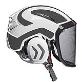 Protos integral - Casco de seguridad con protección auditiva, color blanco y gris