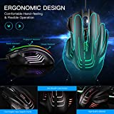 Zoom IMG-2 mouse usb tedgem gaming con