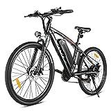 VIVI Bicicleta Eléctrica de 27.5 Pulgadas,Bicicleta Eléctrica de Montaña para Adultos 500W, Batería de 48 V 10.4AH, Shimano 21 Velocidades E-Bike MTB,3 Modos, Velocidad Máxima de 32km/h