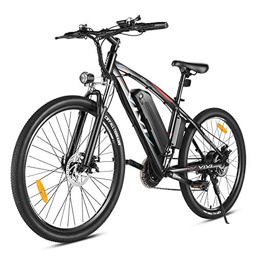 VIVI Bici Elettrica 27,5' Ebike MTB Elettrica, Batteria Rimovibile al Litio 48V 10.4Ah, 500W Bicicletta Elettrica con Pedalata Assistita, Shimano a 21 Velocità, Mountain Bike per Adulto Unisex