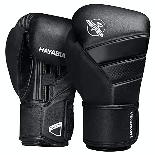 Hayabusa T3 Boxhandschuhe (Schwarz/Schwarz, 16oz)