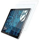 Bruni Schutzfolie kompatibel mit Samsung Galaxy Book 10.6 Folie, glasklare Bildschirmschutzfolie (2X)