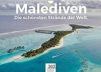 Malediven - Die schoensten Straende der Welt. (Wandkalender 2022 DIN A4 quer): Tauchen Sie ein in die Welt der Malediven! (Monatskalender, 14 Seiten )