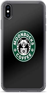 iPhone XR Case Clear Anti-Scratch Moonbucks, Sailor Moon Cover Phone Cases for iPhone XR, Crystal Clear