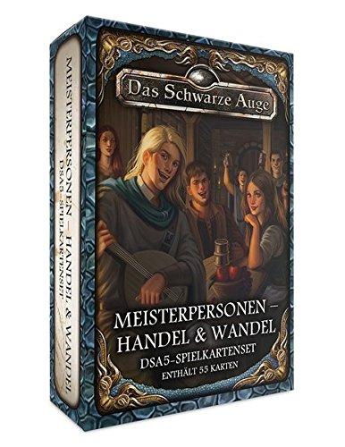 DSA5-Spielkartenset Meisterpersonen – Handel & Wandel (Das Schwarze Auge - Zubehör)