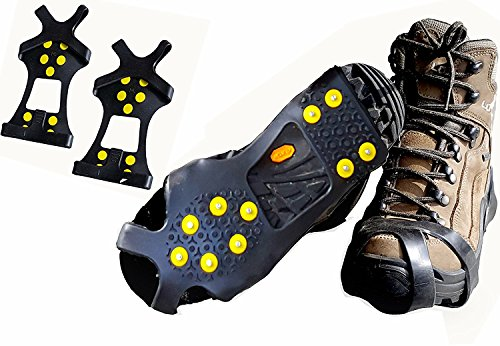 Limm Pro Traction Cleats for Snow and Ice, Medium (Men 3.5-6.5 / Women 5.5-9)