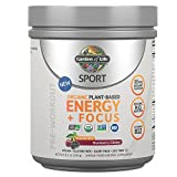 Garden of Life Sport Organic Pre Workout Energy Plus...