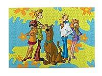 大人のジグソーパズル ジグソーパズル、スクービー - ドゥージグソーパズソー教育ゲーム大人の大人の壁の家の装飾のおもちゃセット、300~6000個の箱のおもちゃ D-1115 (Size : 500P)