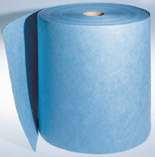 Preisvergleich Produktbild Ölsaugtuch SORB BLAU auf Rolle 40 cm x 46 mtr saugt Öl und viele Chemikalien